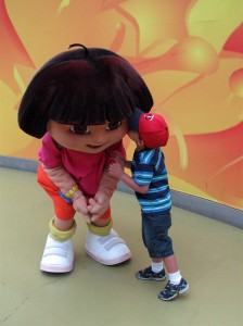 Dora at Mall of America