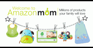amazonmom 300x155 Join Amazon Mom: Get Free Shipping + 30% Off Diapers