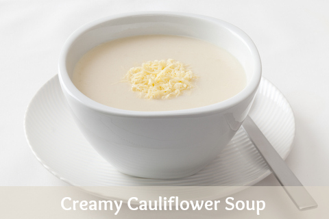 Creamy Cauliflower Soup Creamy Cauliflower Soup