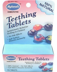 recall hylands teething tablets