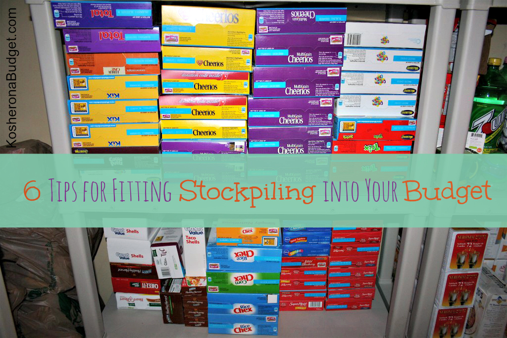 6 Tips for Fitting Stockpiling Into Your Budget