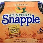 FREE 6-Pack of Snapple with New $1/1 Coupon + Mail in Rebate
