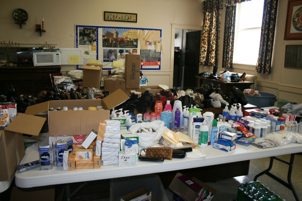 toiletries in joplin 1024x682 Joplin. Yes, there is despair. But there is also hope.