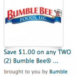 $1/2 Bumble Bee Tuna Coupon from Recyclebank