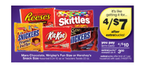 Screen shot 2011 10 30 at 10.57.56 AM CVS: Get 4 Big Bags Mars Candy for Just $1!