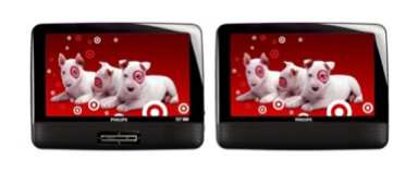 Screen shot 2011 12 17 at 5.48.19 PM Target.com | Philips Dual Screen Portable DVD Player $99.99 Shipped