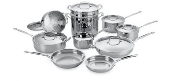 Screen shot 2011 12 26 at 10.33.22 AM1 Amazon | Cuisinart 17 Piece Stainless Steel Cookware Set for $127   Shipped (+ FREE $50 Knife Set)