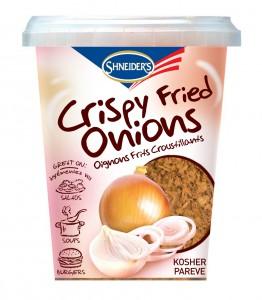 crispy fried onions 262x300 Chanukah Giveaway #1   Kosherfest Gift Basket   Worth Over $250