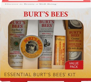 Burts Bees Essential Burts Bees Kit 792850009165 300x268 Burts Bees Essential 5 Piece Kit   $5.72, Shipped + FREE EnviroKidz Crispy Rice Bar!