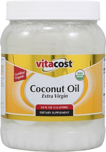 Vitacost Extra Virgin Certified Organic Coconut Oil 844197011568 209x300 Vitacost | 70 Ounces of Extra Virgin Organic Coconut Oil for $19.48   Shipped!