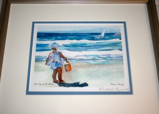 little girl painting Cape Cod | Bargain of the Century + Shark & Whale Sightings