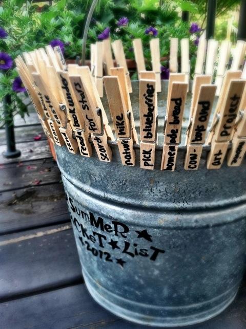 summer bucket list Making a Summer Bucket List