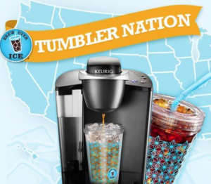 brew over ice 300x262 FREE Brew Over Ice Tumbler from Tumbler Nation
