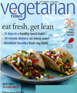 vegetarian times 246x300 Get a Year of Vegetarian Times for $5.99