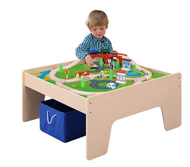 Screen Shot 2012 11 24 at 7.20.45 PM Wooden Train Table for $45   Shipped (Regularly $80)