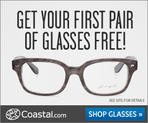 {Reminder} Get a FREE Pair of Prescription Eyeglasses from Coastal.com