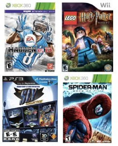 video games 243x300 Video Games on Lightning Deals: LEGO Harry Potter, Spider Man, Skylanders