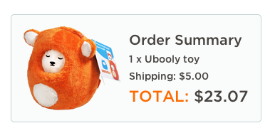 Screen Shot 2012 12 04 at 12.59.25 PM Ubooly Plush App Toy (Works with iPhone / iPod)   $23.07, Shipped (Save $10)