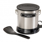 6-Cup Stainless Steel Deep Fryer – $15