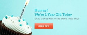 honest dollar shipping 300x122 The Honest Company: Free $10 Credit + $1 Shipping (Today Only)