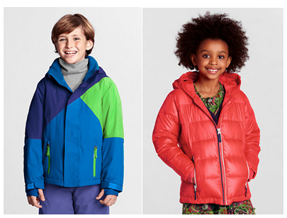 Lands' End Kids Coats