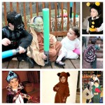 Purim Costume Collage