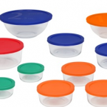{Expired} Pyrex 20-Piece Set with Lids – $20, Shipped (50% Off)