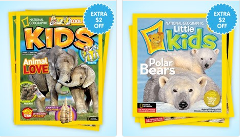 Screen Shot 2013 03 07 at 6.00.13 PM One Year Subscription to National Geographic Kids & Little Kids for $10