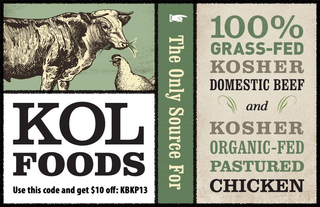 horizontal ad with code 1024x662 KOL Foods: Organic, Grass Fed Kosher Meat + $10 Off Passover Orders
