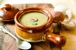 mushroom soup 300x199 25 Vegetarian Passover Recipes