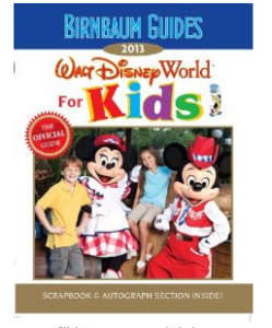 birnbaum guide to disney 249x300 Birnbaum's Walt Disney World for Kids Book, 2013    $7.92 (Save $5)