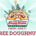 Free Krispy Kreme Doughnuts (6/7/13)