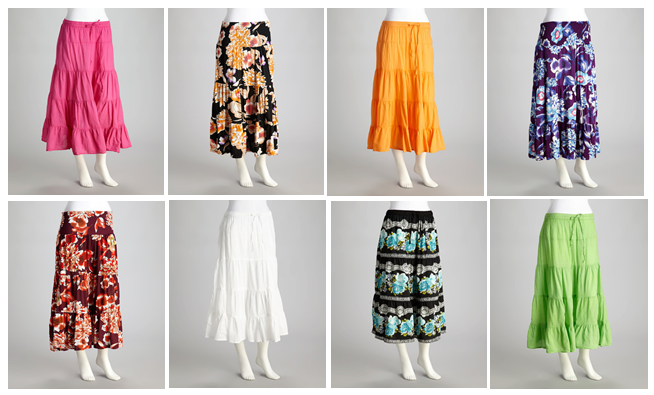 Maxi Skirts Zulily1 Zulily: MEGA Womens Skirt Sale (Price Start at $4.99!)