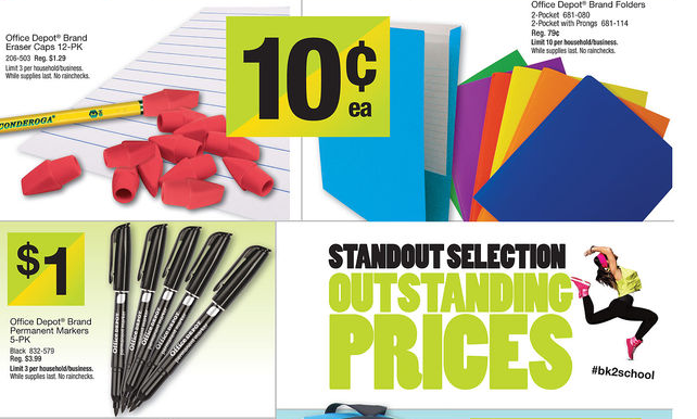 Office Depot Deals for 7/21