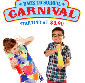 Crazy 8 Back to School Sale