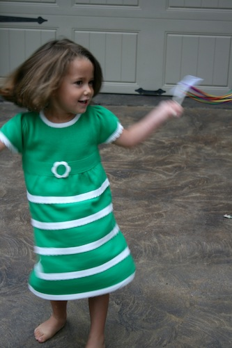 Gymboree Dress Twirling
