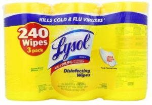 Lysol Disinfecting Wipes Lysol Disinfecting Wipes   As low as $6.78 for 240 Count