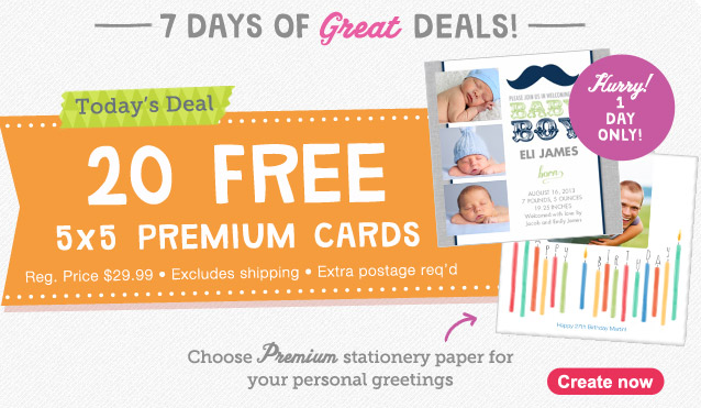 Free Photo Cards from Walgreens