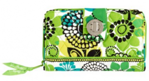 Vera Bradley Turn Key Wallet