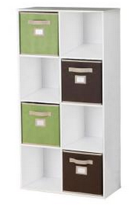 Screen Shot 2013 08 22 at 9.43.24 AM {Sold Out} Martha Stewart Living 8 Cubby Organizer + 4 Fabric Bins Just $29, Shipped (Today Only)