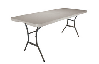 Screen Shot 2013 08 28 at 8.25.27 AM Deals on Folding Tables ~ 6 Foot Table for $38 from Lowes