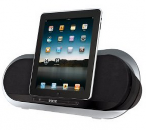 iHome Speaker System iHome Speaker System for iPad/iPhone/iPod   $88.20, Shipped