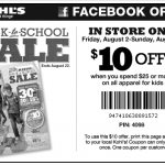 kohls $10 off $25 coupon