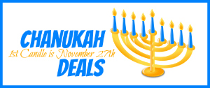 Chanukah Deals1 Sign Up for Kosher on a Budgets 2013 Chanukah Gift Deals Newsletter