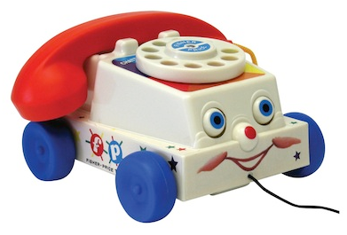 Fisher Price Chatter Phone Fisher Price Classic Chatter Phone   $9.99, Shipped