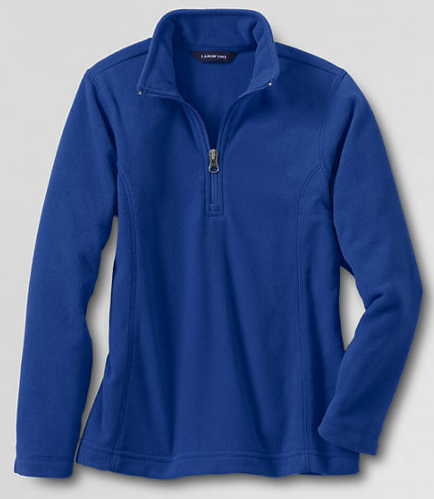 Girls T-100 Half Zip