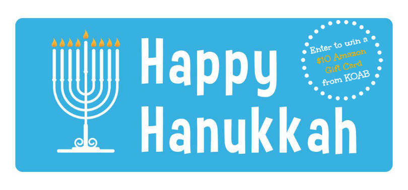 Hanukkah Amazon Gift Card Giveaway