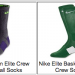 Nike Elite Crew Socks 3:$30