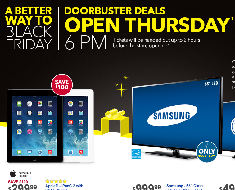 best buy black friday deals  Best Buy Black Friday Ad 2013