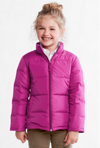 Girls Down Jacket Lands End